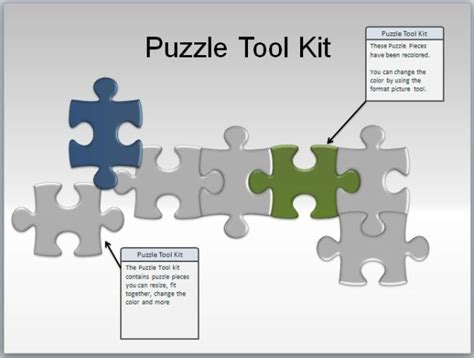 Animated Puzzle Pieces For PowerPoint