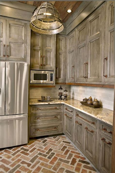 Awesome 90 Rustic Kitchen Cabinets Farmhouse Style Ideas