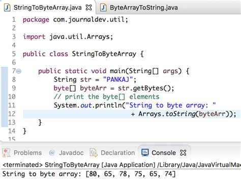 Print java array in one line