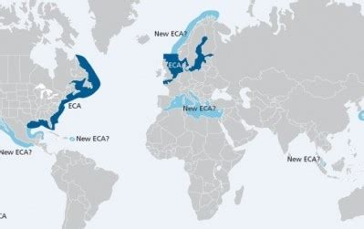 Skuld advice on North American ECA Zones and Compliance