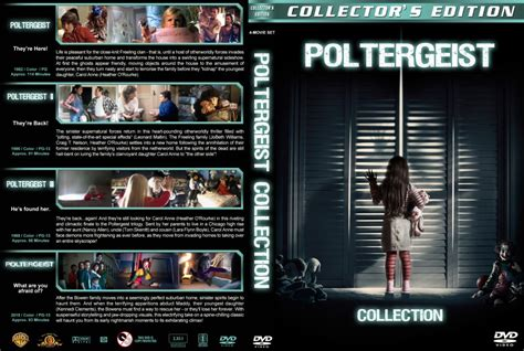 Poltergeist Collection dvd cover (1982-2015) R1 Custom