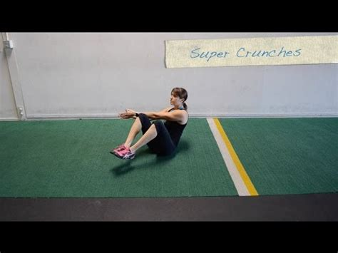 22 Sit Up and Crunch variations - YouTube