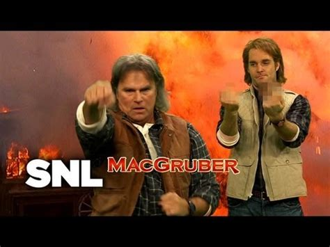 MacGruber with MacGyver - Saturday Night Live - YouTube