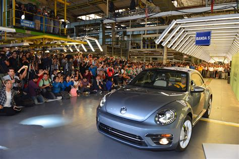 The bug's been squashed: VW builds its final Beetle