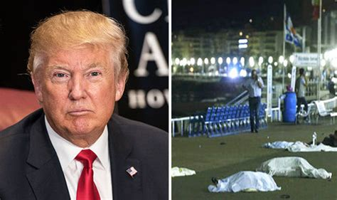 Donald Trump reacts to Nice terror attack and postpones