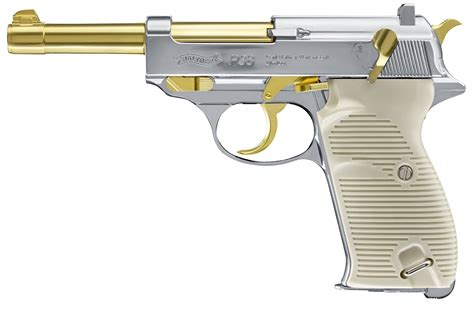 Walther P38 Gold Edition CO2 Pistole | Damage Waffenhandel