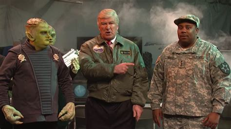 Trump Can't Handle Alien Invasion in SNL's Independence