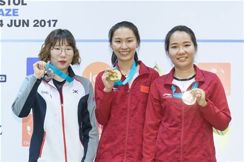 Lin wins third medal of ISSF World Cup season with victory