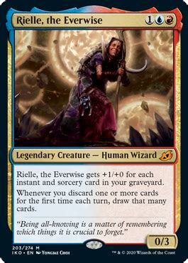 Rielle, the Everwise from Ikoria Spoiler