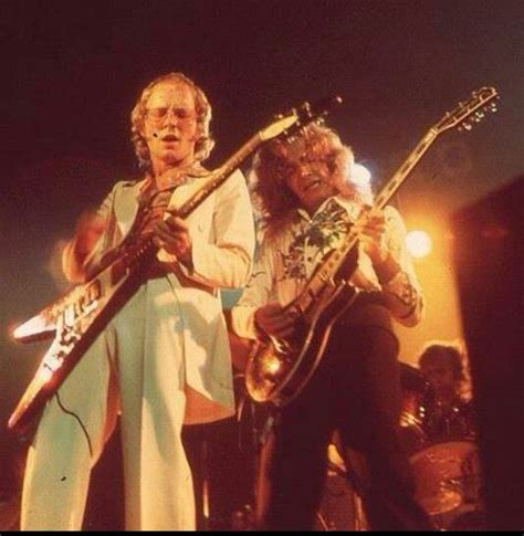 Andy Powell & Ted Turner - This was the iconic dual guitar