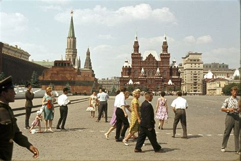 1950's Moscow Beautiful Pictures - XciteFun