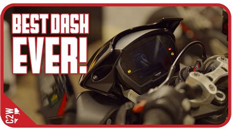 How a motorcycle dash SHOULD LOOK! [2018 Triumph Street