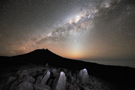 The Milky Way over Paranal | ESO