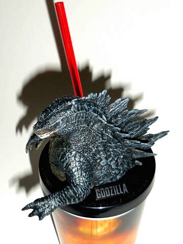 Godzilla 2014 Theater Exclusive Drinking Cup with Zilla