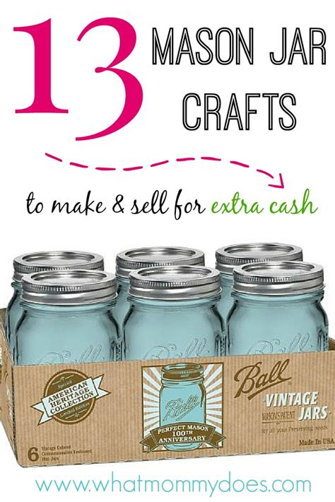 13 Mason Jar Crafts to Make & Sell for Extra Cash - Page 6