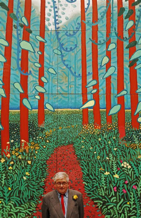 Hockney's 'A Bigger Picture 'at the Royal Academy