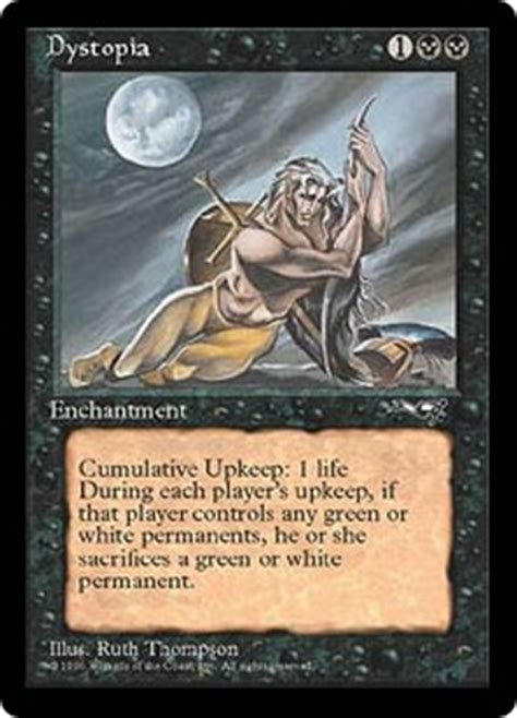 Dystopia - Enchantment - Cards - MTG Salvation