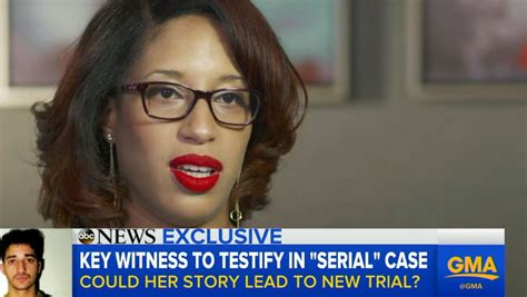 'Serial' Witness Asia McClain Speaks Out About Recent