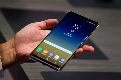 First impressions of Samsung's Galaxy Note 8 - Chicago Tribune