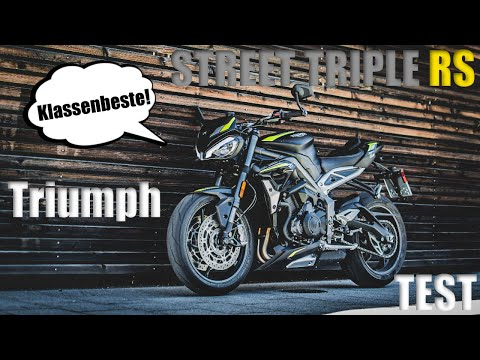 2018 Triumph Speed Triple RS Review - YouTube