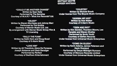 Music Credits in 'The Perks of Being A Wallflower' - YouTube