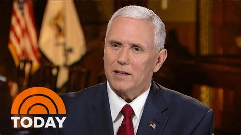 Mike Pence: The Donald Trump I Saw Last Night Is The One I