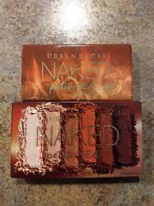Urban Decay New Naked HEAT PETITE Palette - Authentic
