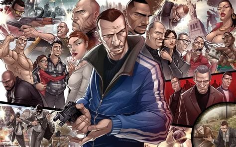 Grand Theft Auto IV Characters Wallpapers | HD Wallpapers