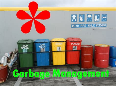 Amendments for Garbage Management Plan and Garbage Record