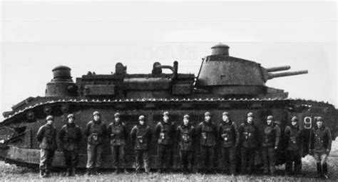 French Tanks of the Interwar Decades - Char 2c with 12