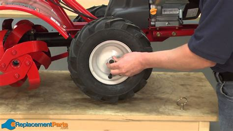 How to Replace the Tire and Wheel Assembly on a Troy-Bilt