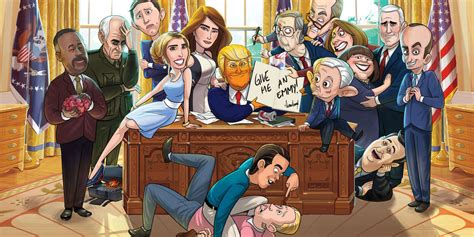 Our Cartoon President: Seasons, Episodes, Cast, Characters