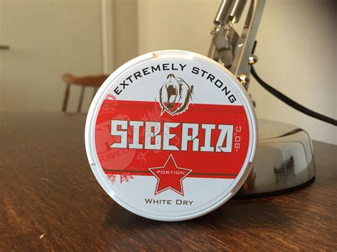 Siberia -80°C Extremely Strong - Snusbloggen