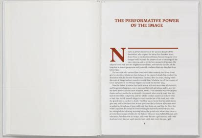 typography - Modern book design, margins and typed area
