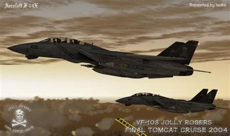 VF-103 Jolly Rogers Final Tomcat Cruise 2004 PACK - F-14 X