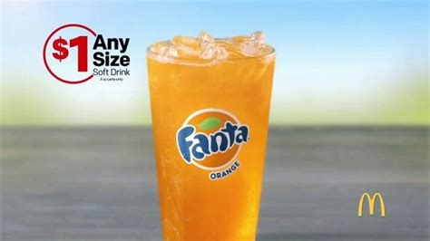 McDonald's $1 Any Size Soft Drink TV Commercial, 'Summer