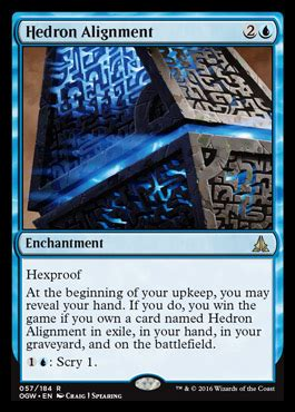 Hedron Alignment | OATH OF THE GATEWATCH MTG Visual Spoiler
